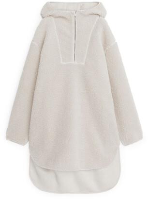 Arket Wool Blend Pile Dress