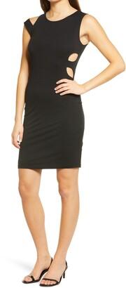 Fraiche by J Cutout Body-Con Dress