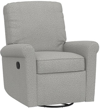 Pottery Barn Kids Small Comfort Swivel Glider & Recliner