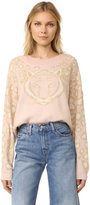 Wildfox Couture Feline Sweater