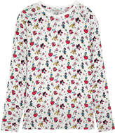 Cath Kidston Mickey and Minnie Little Patches Jersey Top