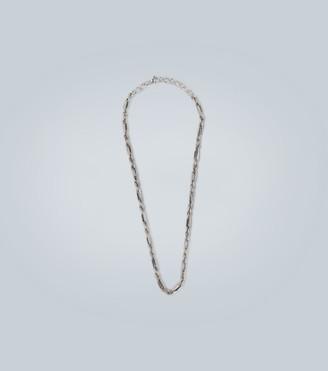 Bottega Veneta Link silver necklace