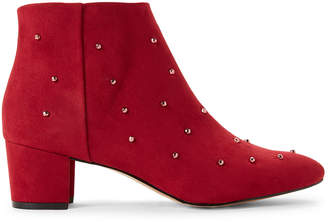 Katy Perry Mulberry Auora Studded Ankle Booties