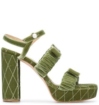 Chloe Gosselin Jean platform sandals