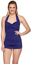 As Is DreamShaper by Miraclesuit Caitlin Halter Swimsuit