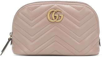 Gucci GG Marmont Medium leather cosmetics case