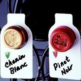 Wine Bottle Tags Reusable (50) | C-8073, #1386 by Franmara