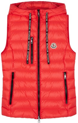 Moncler Sucrette Coral Quilted Shell Gilet