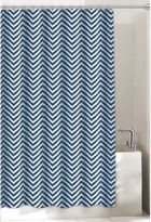 Bed Bath & Beyond Chevron Shower Curtain in Navy