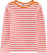 Scotch & Soda Neon striped T-shirt