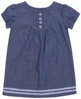 Jo-Jo JoJo Maman Bebe A-Line Dress (Baby)-Chambray-12-18 Months