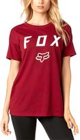 Fox Dark Red District Crewneck Tee