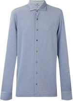 Hackett button-up shirt - men - Silk/Cotton - L