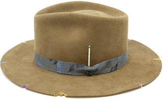 Nick Fouquet Whiskey Springs Beaver Felt Fedora Hat
