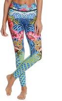 Luli Fama Women's Inked Babe Engineer Print Legging 8151702