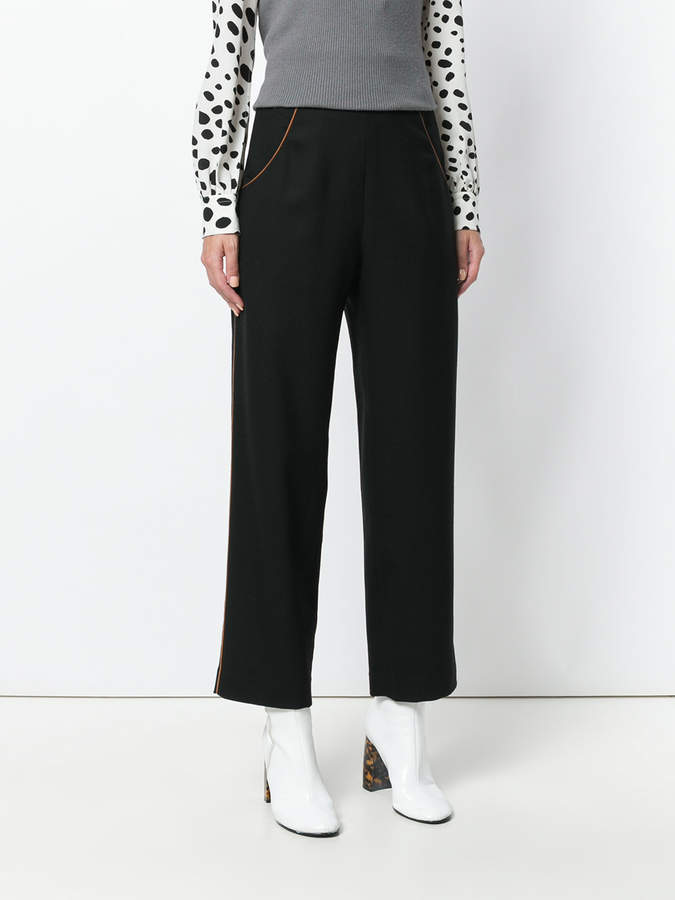 Vanessa Seward Edwige cropped trousers