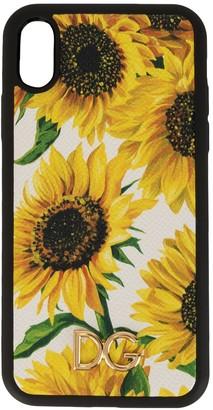 Dolce & Gabbana sunflower print iPhone XR case