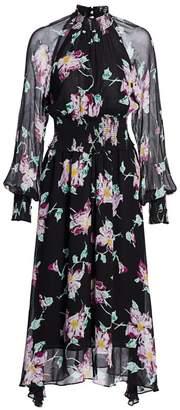 A.L.C. Casey Long-Sleeve Floral Dress