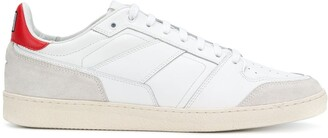Ami Paris Thin Laced Low Trainers