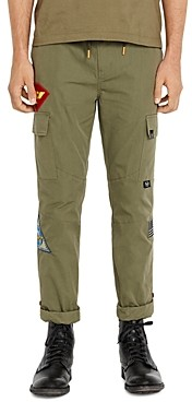 Avirex Patch Drawstring Slim Fit Pants