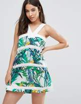 d.RA Shanna Tropical Print Dress