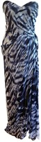 Monique Lhuillier Blue Silk Dress for Women