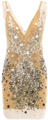 Faith Connexion Sequined Mini Dress