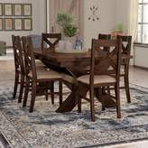 Laurèl Foundry Modern Farmhouse Isabell 7 Piece Dining Set Foundry Modern Farmhouse