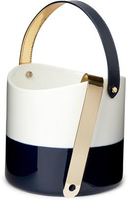 Ralph Lauren Wyatt Porcelain Ice Bucket