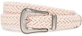 Rebecca Minkoff Woven Strap Belt