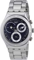 Swatch Men's Irony YCS547G Silver Stainless-Steel Quartz Watch with Dial