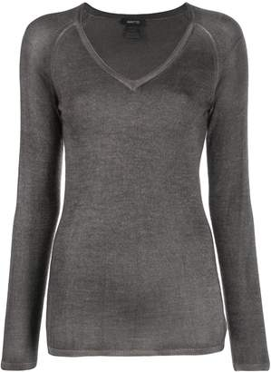 Avant Toi ribbed V-neck jumper