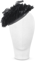 Nana Nana' Bonnie - Black 50's Feather Hat