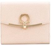 Salvatore Ferragamo clasp purse - women - Calf Leather/Cotton/Leather - One Size