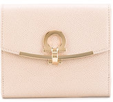Salvatore Ferragamo clasp purse - women - Cotton/Calf Leather/Leather - One Size