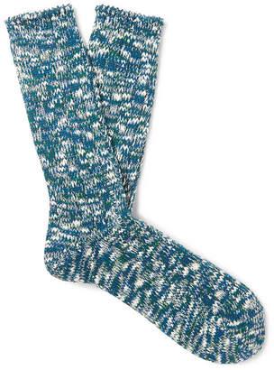 Melange Home Anonymous Ism Cotton-Blend Socks