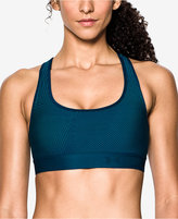 Under Armour Cross-Back Mid-Impact Sports Bra