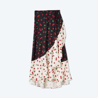 Summersalt The Beach to Brunch Wrap Skirt - Cherry on Top