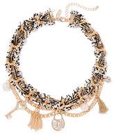 New York & Co. Lock & Key Charm Necklace