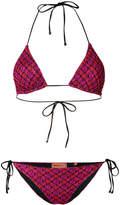 Missoni tricot bikini set