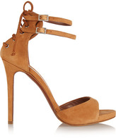 Tabitha Simmons Viva Suede Sandals - Camel