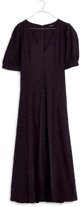 Madewell Retro Floral Jacquard Midi Dress