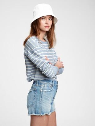 Gap Textured Crewneck Sweatshirt