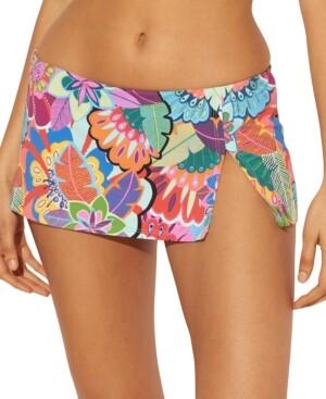 BLEU by Rod Beattie Skirted Hipster Bikini Bottoms Women's Swimsuit
