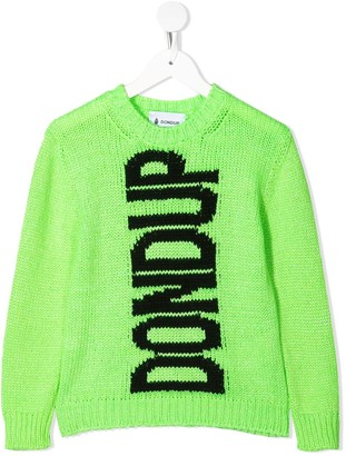 Dondup Kids Intarsia Knit Jumper