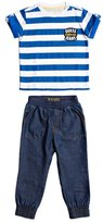 GUESS Short-Sleeve Tee and Pants Set (2-6x)