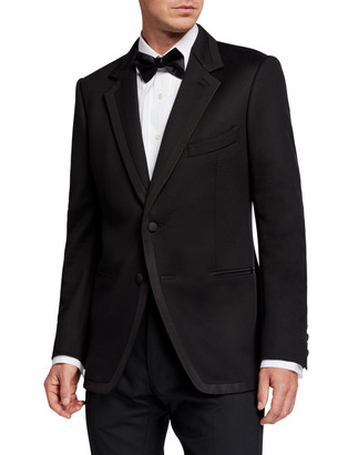 Tom Ford Men's O'Connor Two-Button Dinner Jacket w/ Satin Trim