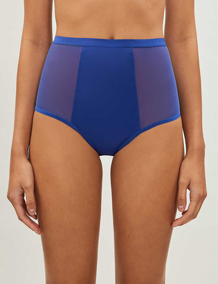 THINX Hi-Waist organic stretch-cotton briefs