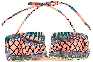 Mara Hoffman Frida printed bikini top