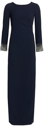Catherine Regehr Embellished Techno Crepe Gown